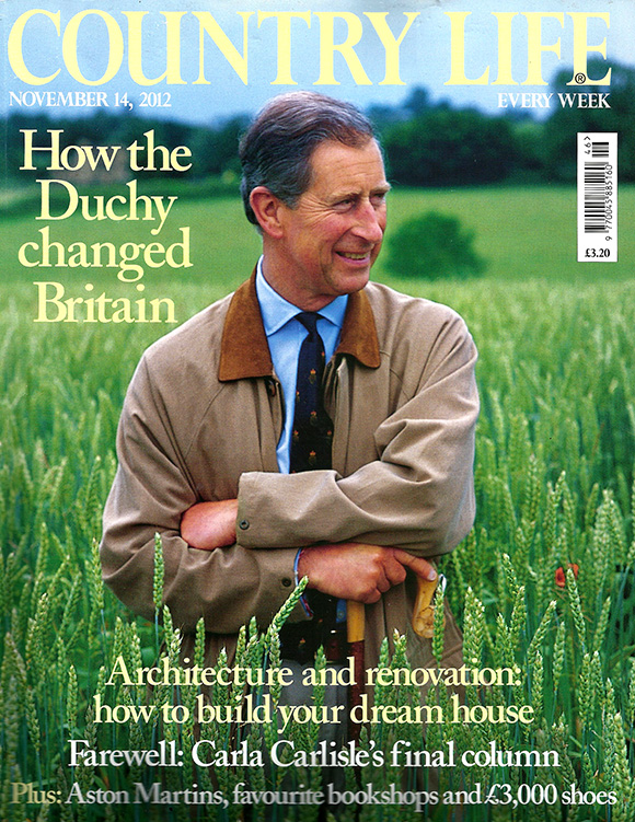 Country Life magazine November 2012 Cover